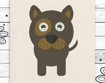 Kids embroidery Dog embroidery Machine embroidery design For kids 3 sizes INSTANT DOWNLOAD EE5189