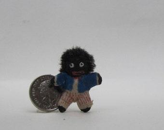 tiny rag doll golly by #teeny weeny teddies