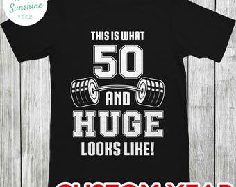 50th birthday shirt, birthday shirt, shirt for birthday, shirt for 50th birthday, 50th birthday shirt for him, 50th birthday tshirt for man