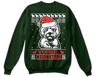 Yorkie shirt, yorkie sweatshirt, yorkie sweater, yorkie ugly sweatshirt, yorkie gifts, yorkie christmas shirt, yorkie christmas gift, yorkie