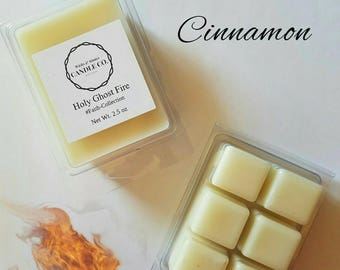 Red Hot Cinnamon Wax Melt, Holy Ghost Fire, Faith Collection, Christian Inspired gifts, Gifts for her, Christmas gifts
