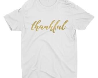 Thankful Shirt. Thankful Tshirt. Thanksgiving Shirt. Thanksgiving Tshirt. Thankful.