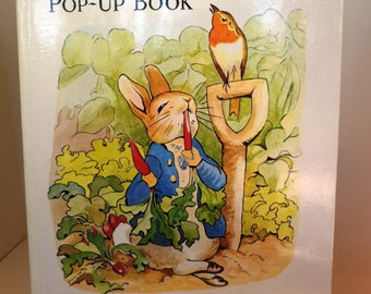 The peter rabbit pop-up book 1983 chinese