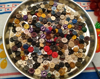 Assorted Vintage Small/Medium Buttons