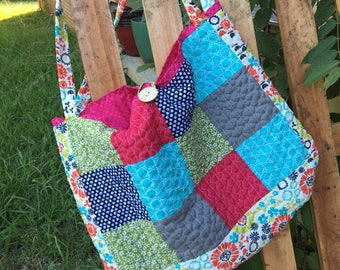 Large Bright Tote