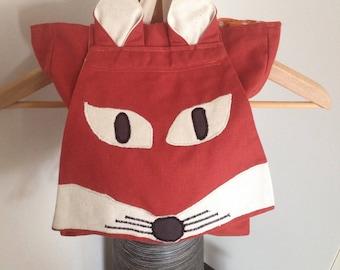 Kindergarten backpack * Fox * adjustable straps