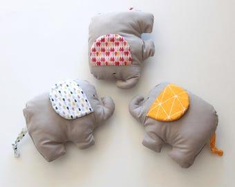 Original, unique, hand made elephant plush toy