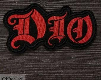 Patch Dio logo Heavy Metal band.