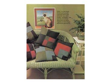 Patchwork Geometry Pillows - Knitting Pattern