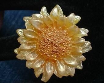 """""""Sunflower"""" ring"""