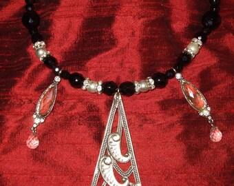 Designer necklace in the spirit art nouveau vintage