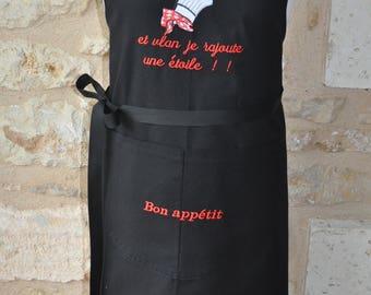 MAN master chef apron