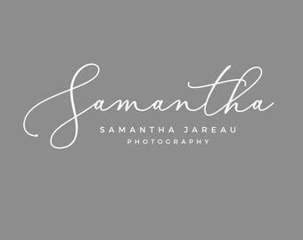 Premade Watermark, Script Logo Design, Photography Branding, Hand Written Logo, Feminine Branding, Custom Logo, Premade Logo, Logo Template