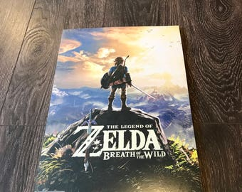 Zelda Breath Of The Wild Promtional Posters 25 pack new! Nintendo 11x17