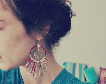 "Earrings Bohemian Gypsy ""Janet"""