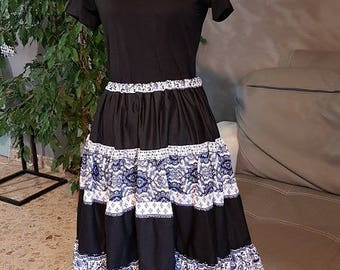 Gorgeous French Provençale SKIRT 1. HAND MADE.
