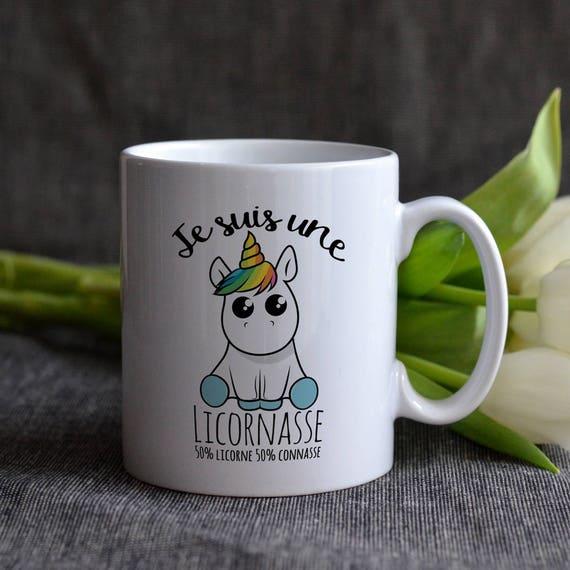 mug licornasse mug moiti licorne moiti mug licorne. Black Bedroom Furniture Sets. Home Design Ideas