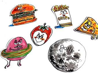 Yum's Big sticker
