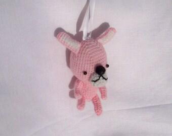 animal to hang or lay crocheted