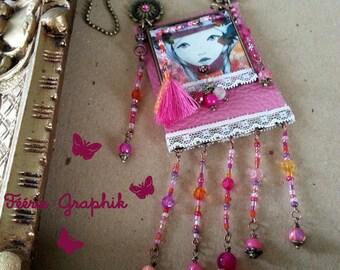 Long Bohemian Gypsy Bohemian unique Girl Collection