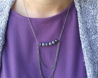 Czech Bead Necklace