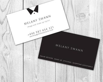 Custom Business Card Design, Premade Business Card Design Template