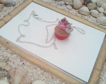 collar necklaces treats cupcake Strawberry