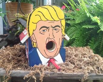 Donald Trump Birdhouse