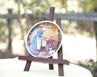 Vintage 1986 Norman Rockwell Mothers Day Plate