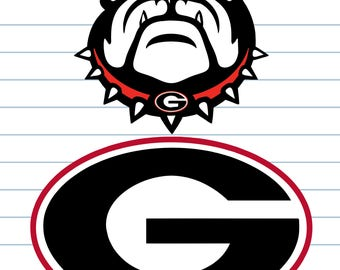 Georgia Bulldogs, Georgia Bulldogs Svg, Georgia Bulldogs Monogram, Georgia Svg, Georgia Clipart, Georgia, Bulldogs-INSTANT DOWNLOAD