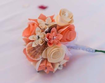 Paper & Shell Beach Bouquet