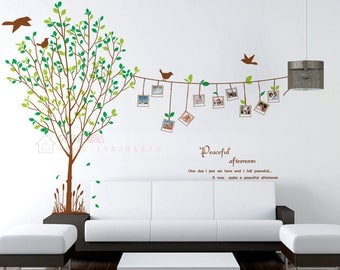 Family Tree Wall Decal   Tree Wall Sticker   Photo Wall Sticker Branches   Wall  Decal Part 80