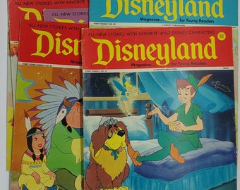 Vintage Disneyland Magazine 1970s | Happy Place
