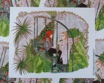 The Mortal Instruments Print - 25,7 x 21 cm