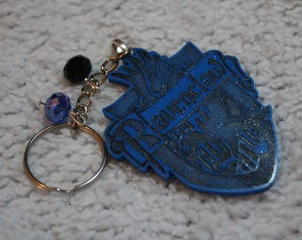 Keychain and magnets coat of arms of Ravenclaw!