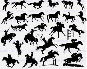 Horse svg - Horse vector - Horse silhouette svg - Horse Clipart - Horse digital clipart for Design or more, files downlad eps, svg, jpg, png