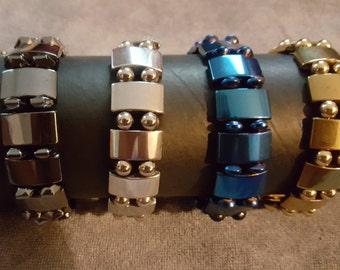 Men's Hematite Bracelets