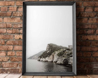 Venere | Italy, Sea, Cliff, Travel, Wall Art Print, Poster, Photography, feng shui