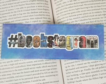 Bookstagram - Bookish Bookmark - Custom Option Available