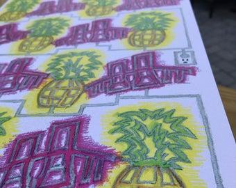 Pineapple Neon Newport, RI
