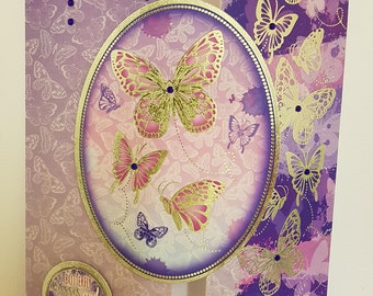 Beautiful handcrafted card