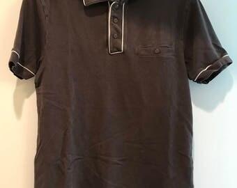 Vintage Club Monaco Brown Polo Shirt