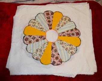 Quilt Squares (30) hand appliqued