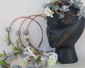 Bridal Flower Crown Set