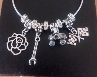 Wild Rose Truck Bracelet