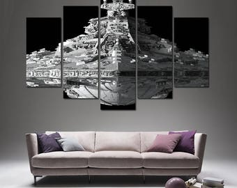 Bon Star Wars Canvas Star Wars Empire Strikes Back Star Wars Canvas Art Star  Wars Print Star