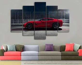 Corvette decor | Etsy