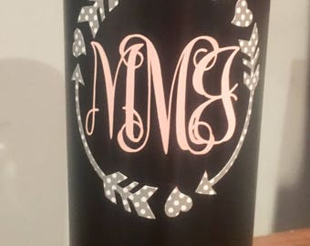 Custom Mossy Oak Tumbler - Monogram