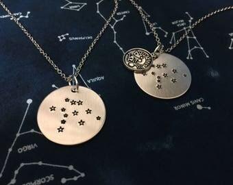 Aquarius Necklace - Aquarius Sign - Aquarius Present - Aquarius Zodiac Necklace - Aquarius Zodiac Sign Jewelry - Gift for Aquarius
