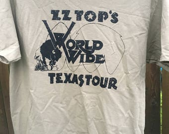 ZZ Top World Wide Texas Tour T-Shirt